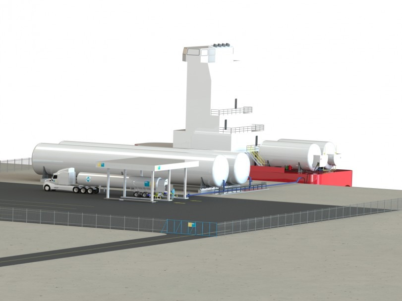 Land LNG Facility 01